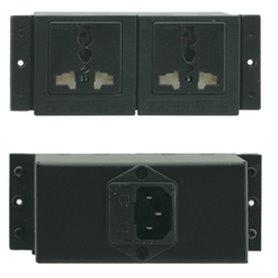 TS-2US Negro conector eléctrico