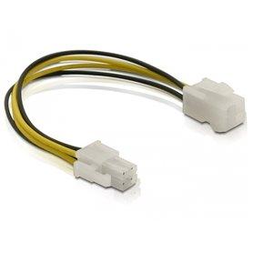 Power cable P4 male/female Multicolor 0.15m cable de transmisión
