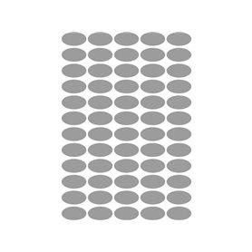 TICO ETIQ. PAPEL SATINADO PLATA SL4-3620