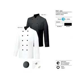 CHEF JACKETS GENTLEMAN WITH LONG SLEEVES - Ref.828