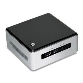 Intel - NUC BLKNUC5I3MYHE PC/estación de trabajo barebone BGA 1168 2,1 GHz i3-5010U UCFF Negro, Plata