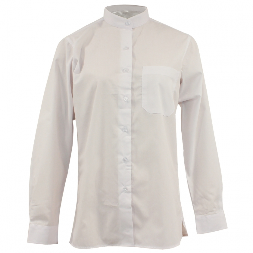 UNIFORM SHIRT WAITRESS LADY COLLAR MAO WITH LONG SLEEVES - Ref.8271 MISEMIYA Camareros