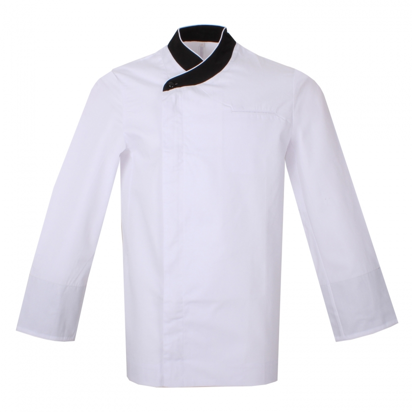 CHEF JACKETS GENTLEMAN WITH ZIPPER LONG SLEEVES - Ref.855