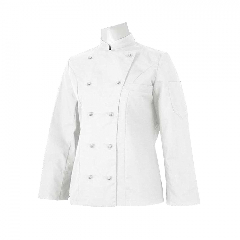 CHEF JACKETS WOMAN LONG SLEEVES - Ref.848