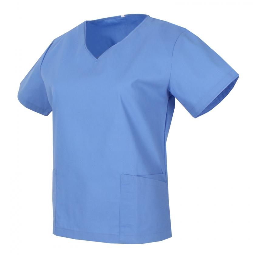 Medical Uniforms Scrub Top CLEANING VETERINARY SANITATION HOSTELRY - Ref.Q818