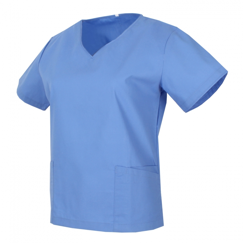 Medical Uniforms Scrub Top CLEANING VETERINARY SANITATION HOSTELRY - Ref.Q818