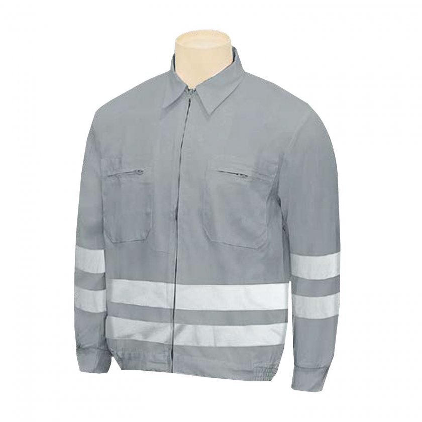 REFLECTIVE WORK JACKETS UNIFORM INDUSTRIAL WORKSHOP MECHANIC TECHNICIAN PLUMBER BRICKLAYER - Ref.882