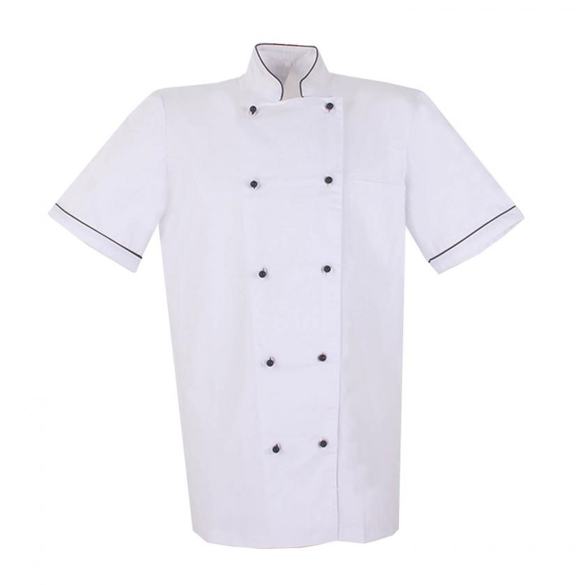 CHAQUETAS CHEF BAR RESTAURANTE COCINERO MANGAS CORTAS - Ref.8501B MISEMIYA MZ-8501B Cocina 0,00€