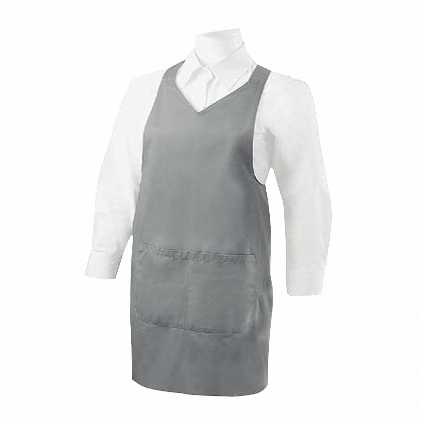 APRON CLEANING WITH POCKET 85mm*70mm WORK UNIFORM CLINIC HOSPITAL CLEANING VETERINARY SANITATION HOSTELRY - Ref.8601