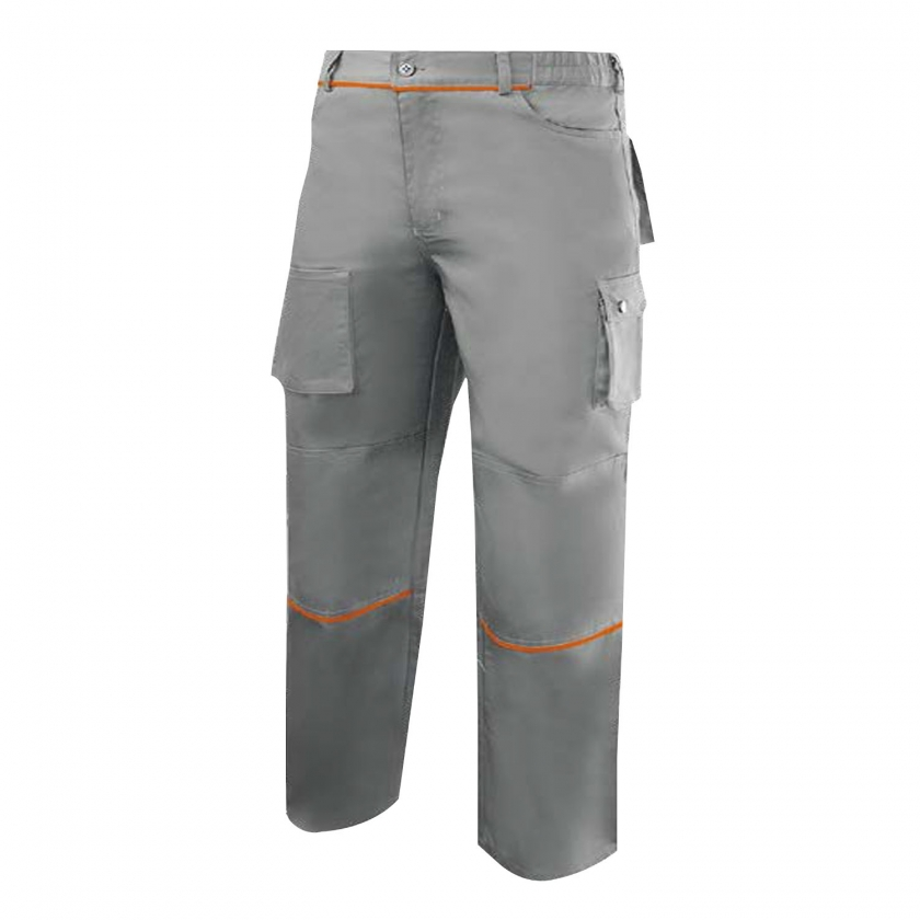 WORK PANTS MULTI-POCKET UNIFORM INDUSTRIAL WORKSHOP MECHANIC TECHNICIAN PLUMBER BRICKLAYER Ref.888