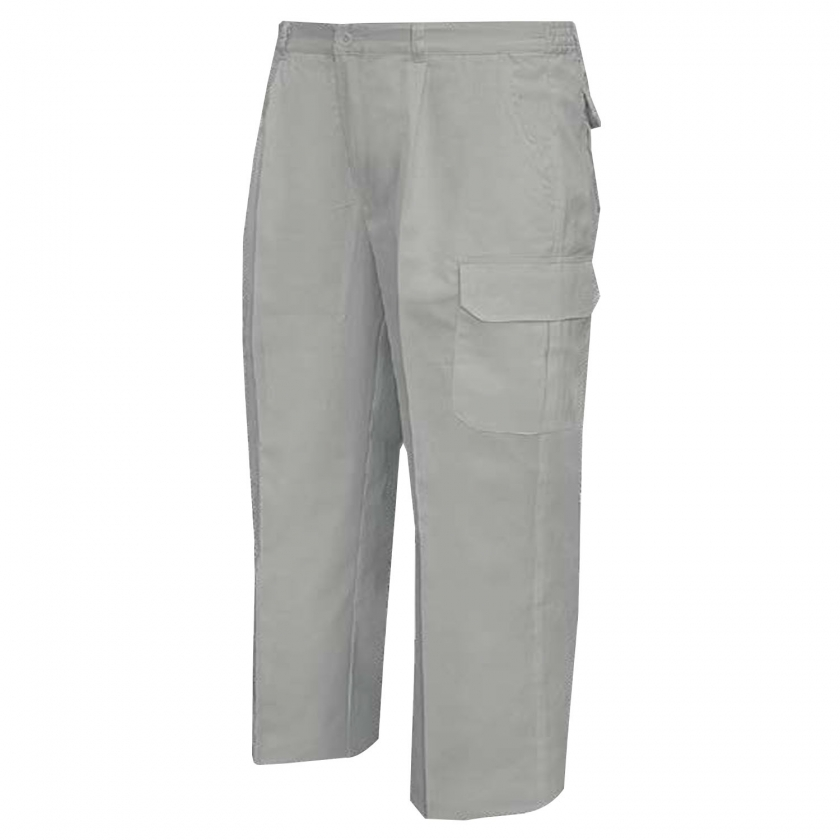 WORK PANTS MULTI-POCKET REINFORCEMENT FOR WINTER UNIFORM INDUSTRIAL WORKSHOP MECHANIC TECHNICIAN PLUMBER Ref.8722