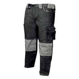 WORK PANTS MULTI-POCKET WITH ZIPPER UNIFORM INDUSTRIAL WORKSHOP MECHANIC TECHNICIAN PLUMBER BRICKLAYER - Ref.877