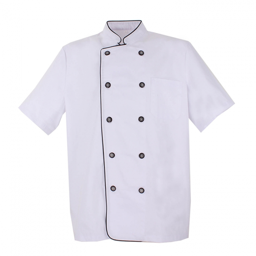 CHEF JACKETS GENTLEMAN WITH REFORMED BUTTON - Ref.8421B