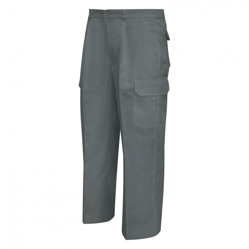 WORK PANTS MULTI-POCKET UNIFORM INDUSTRIAL WORKSHOP MECHANIC TECHNICIAN PLUMBER BRICKLAYER - Ref.872
