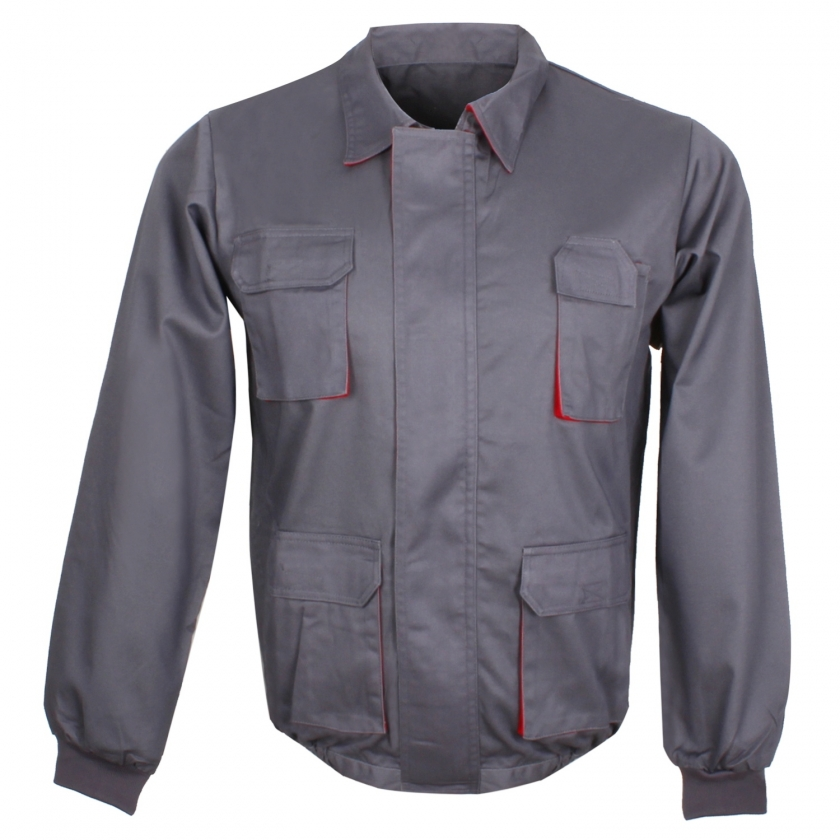 WORK JACKETS MULTI-POCKET UNIFORM INDUSTRIAL WORKSHOP MECHANIC TECHNICIAN PLUMBER BRICKLAYER Ref-884