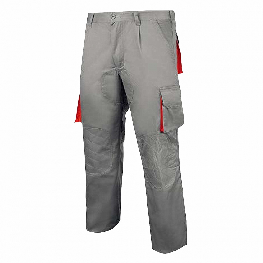 WORK PANTS MULTI-POCKET UNIFORM INDUSTRIAL WORKSHOP MECHANIC TECHNICIAN PLUMBER BRICKLAYER - Ref.885