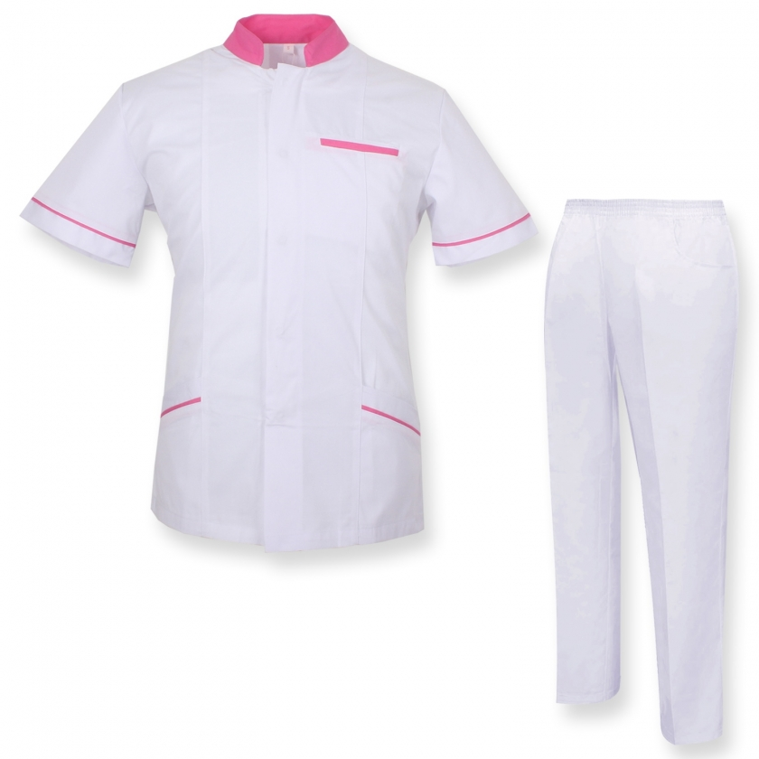 UNIFORMS Unisex Scrub Set – Medical Uniform with Scrub Top and Pants - Ref.7018 MISEMIYA Sanidad,Estética y Limpieza