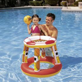 Flotador Canasta Baloncesto Con Pelota 28 cm. Bestway 08321087 Columpios y Juegos de verano 16,37€