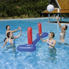Flotador Red De Volley Con Pelota 41 cm. Bestway 08321080 Columpios y Juegos de verano 20,37€