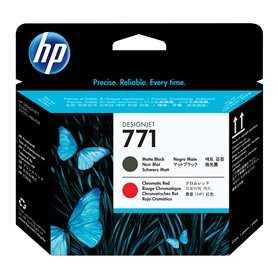 Cabezal de impresión DesignJet 771 negro mate/rojo cromático HP Cabezas De Impresora