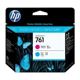 Cabezal de impresión DesignJet 761 magenta/cian cabeza de impresora