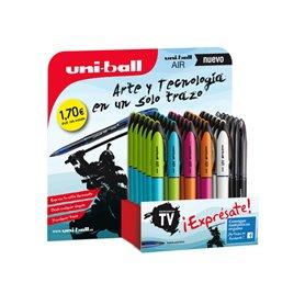 Expositor 36 bolígrafos surtidos color de tinta negro 182634581