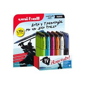 Expositor 36 bolígrafos surtidos color de tinta azul 182634582